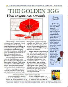 The Golden Egg, May 2015